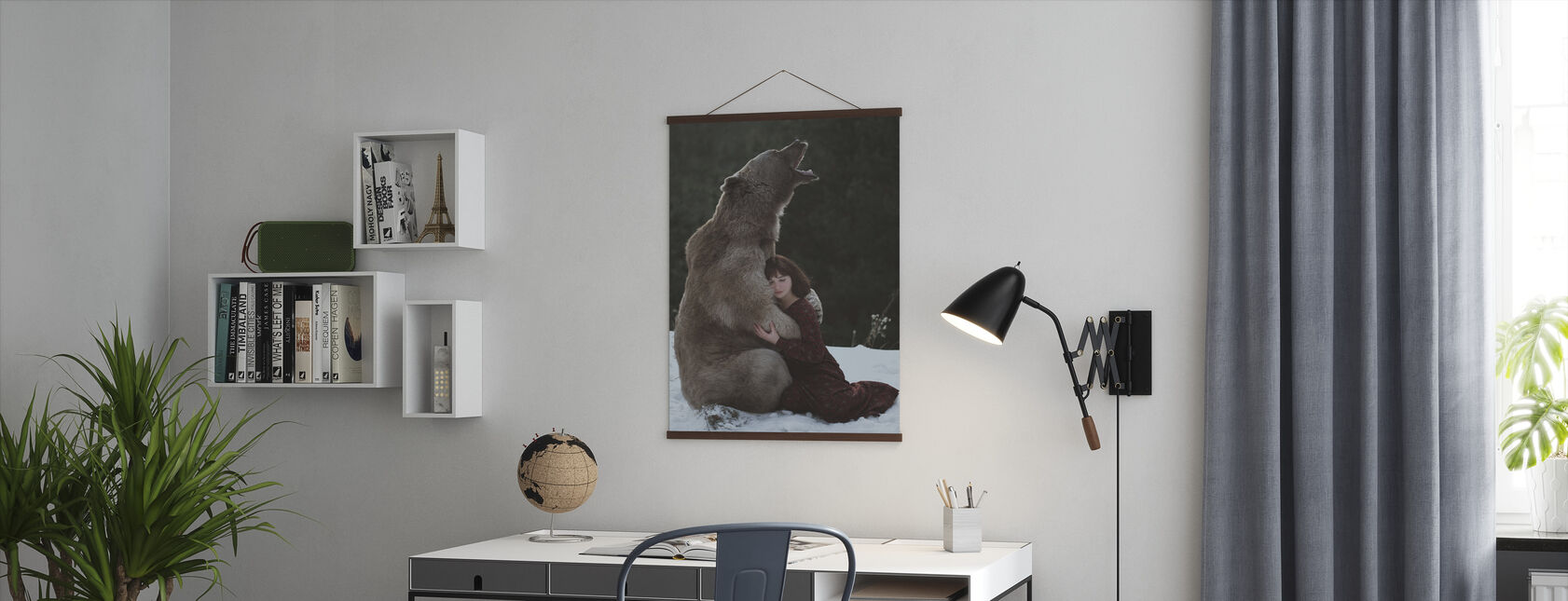 My Big Friend - Poster - Office