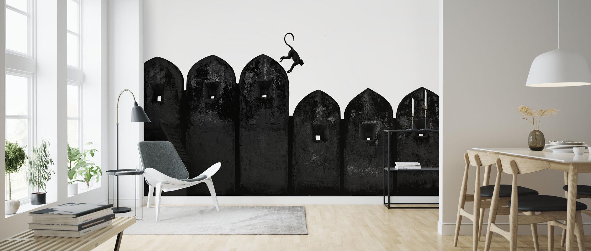 Monkey - Wallpaper - Living Room