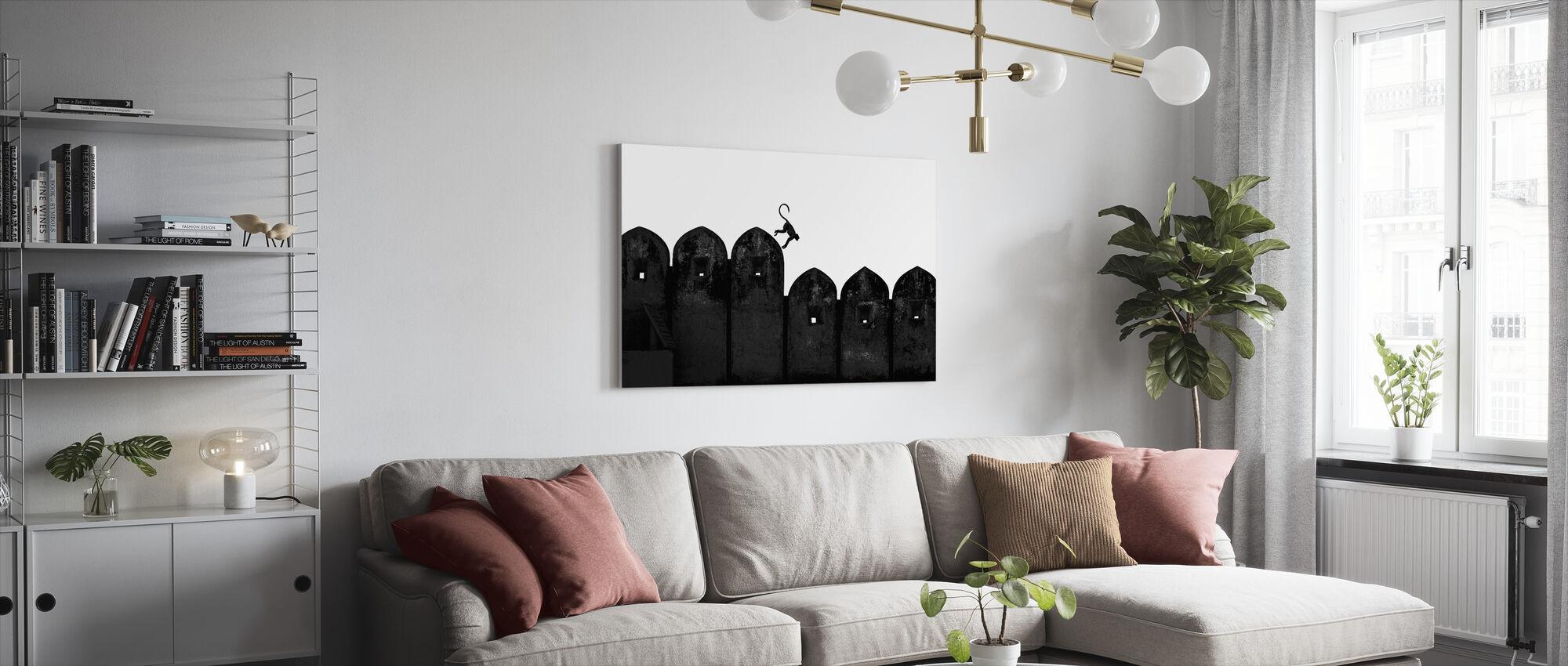 Monkey - Canvas print - Living Room