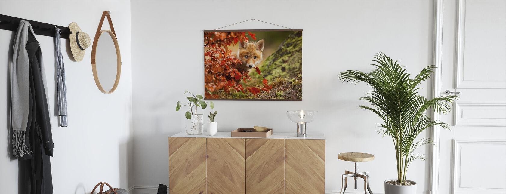Fox - Poster - Hallway