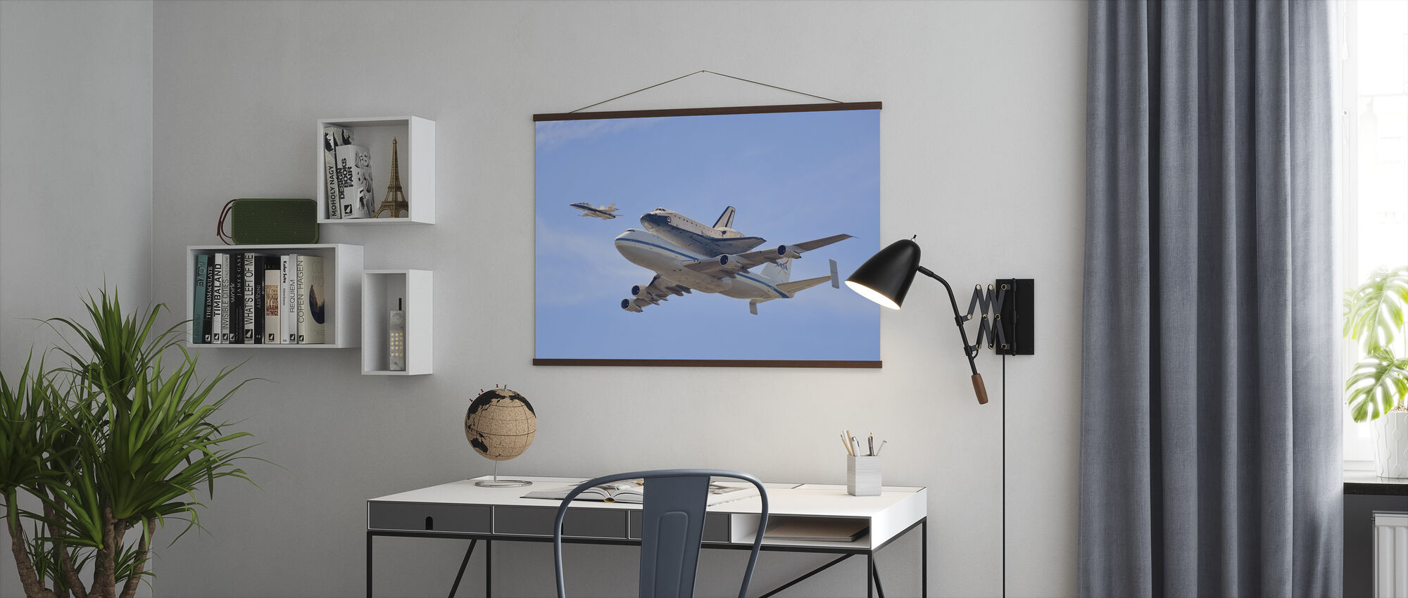 Flying into History - Poster - Office
