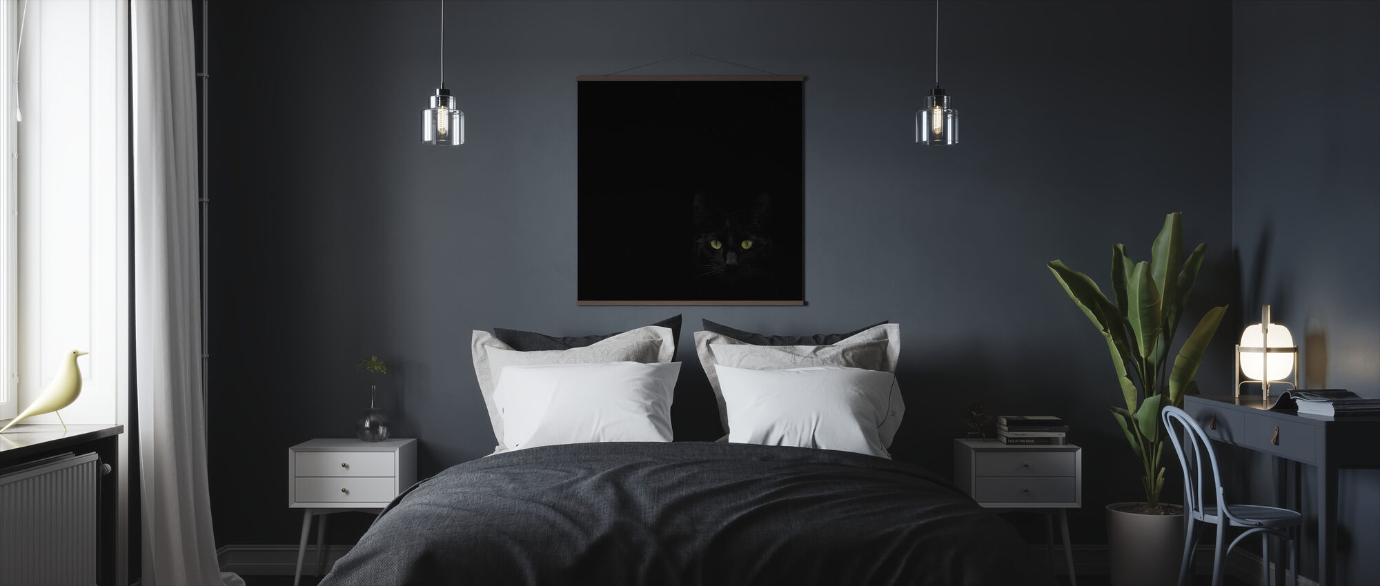Watching You From The Dark Side - Poster - Bedroom