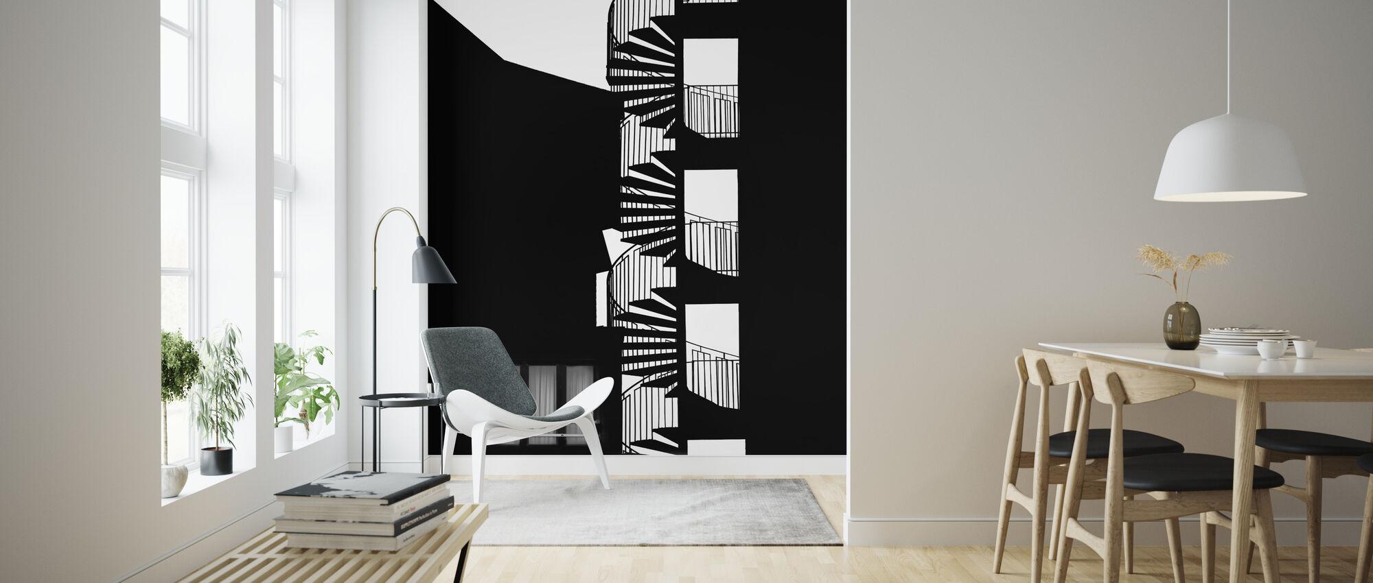 Silhouette - Wallpaper - Living Room