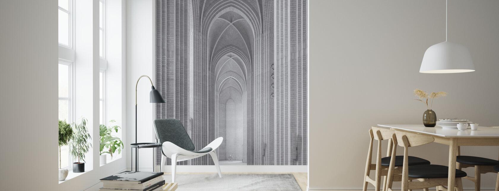 Grundtvig Church - Wallpaper - Living Room
