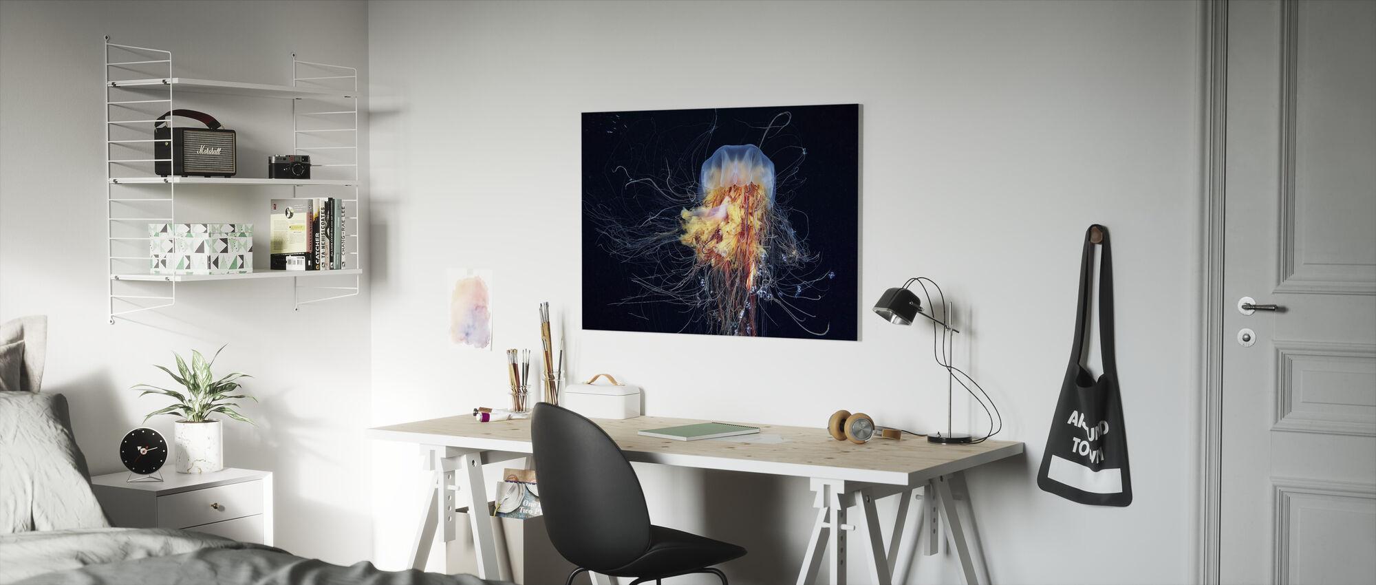 Giant Lions Mane - Canvas print - Kids Room