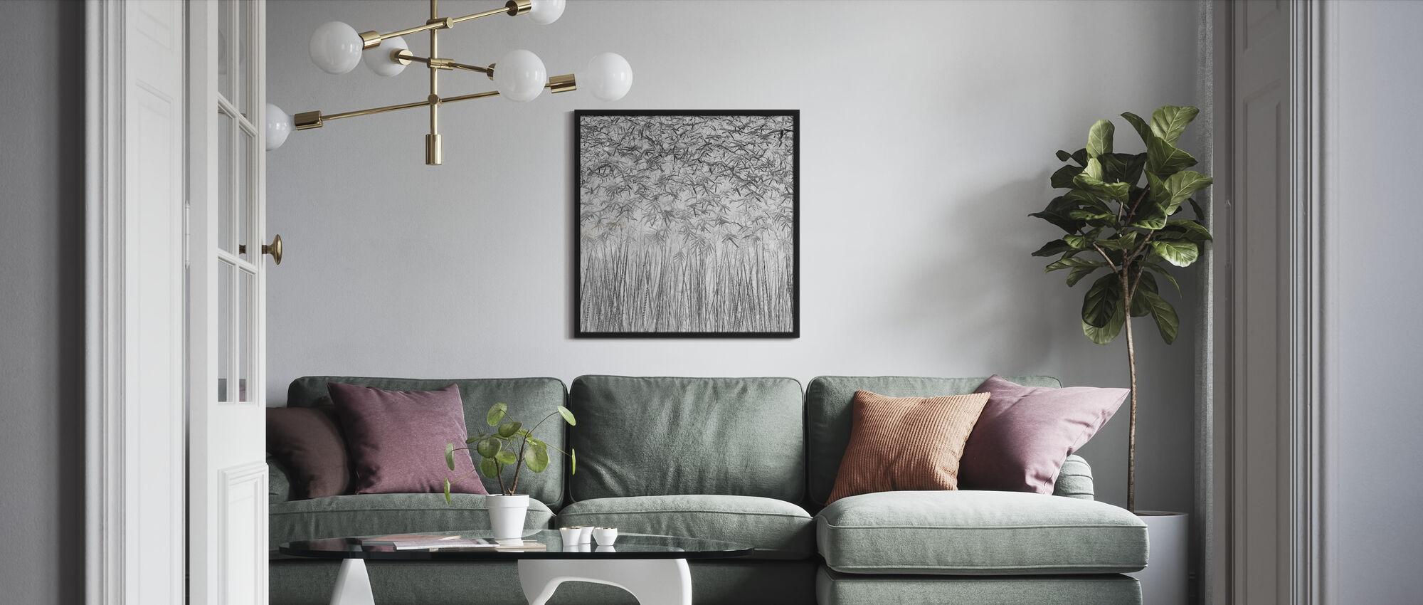 Parallelism - Framed print - Living Room