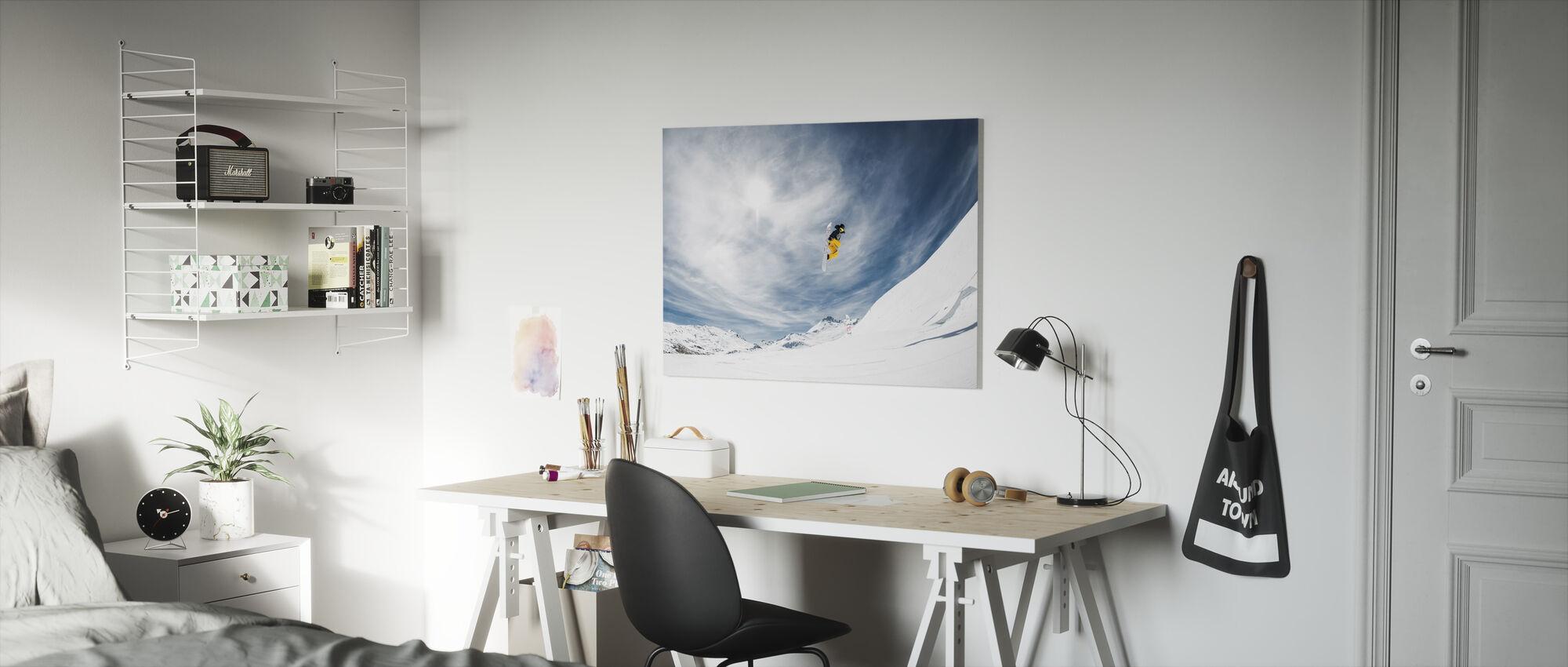 One Fine Method Grab - Canvas print - Kids Room