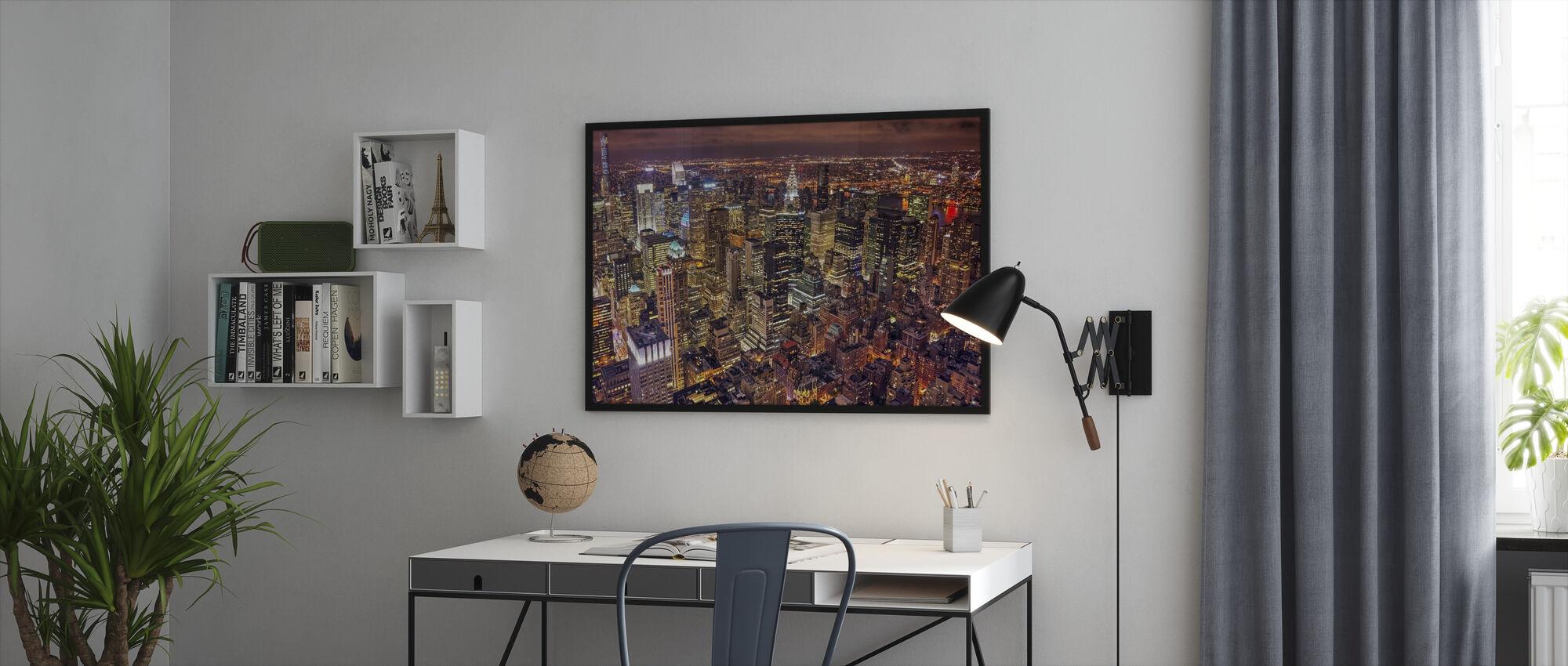 Night Life - Framed print - Office