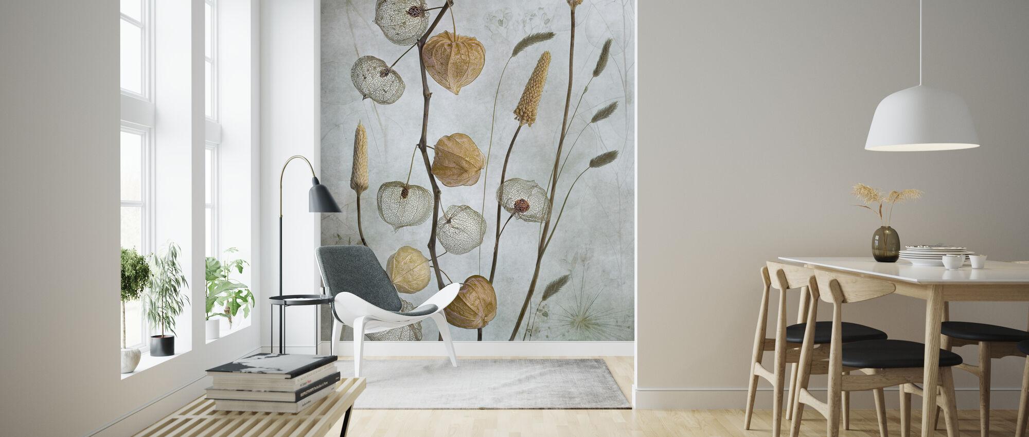 Lanterns - Wallpaper - Living Room