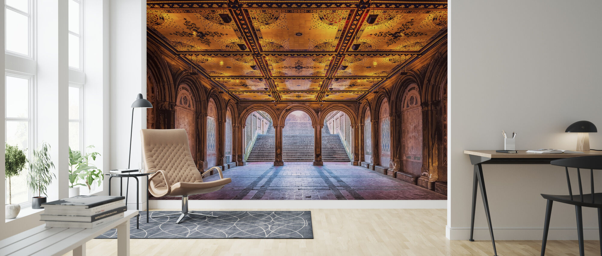 A Walk in the Park - Wallpaper - Living Room
