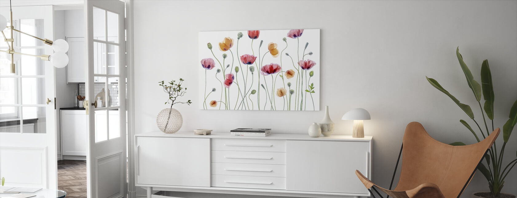 Papaver Party - Canvas print - Living Room