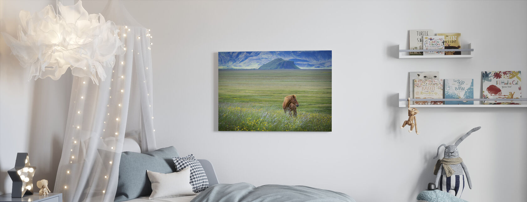 Iceland in a Nutshell - Canvas print - Kids Room