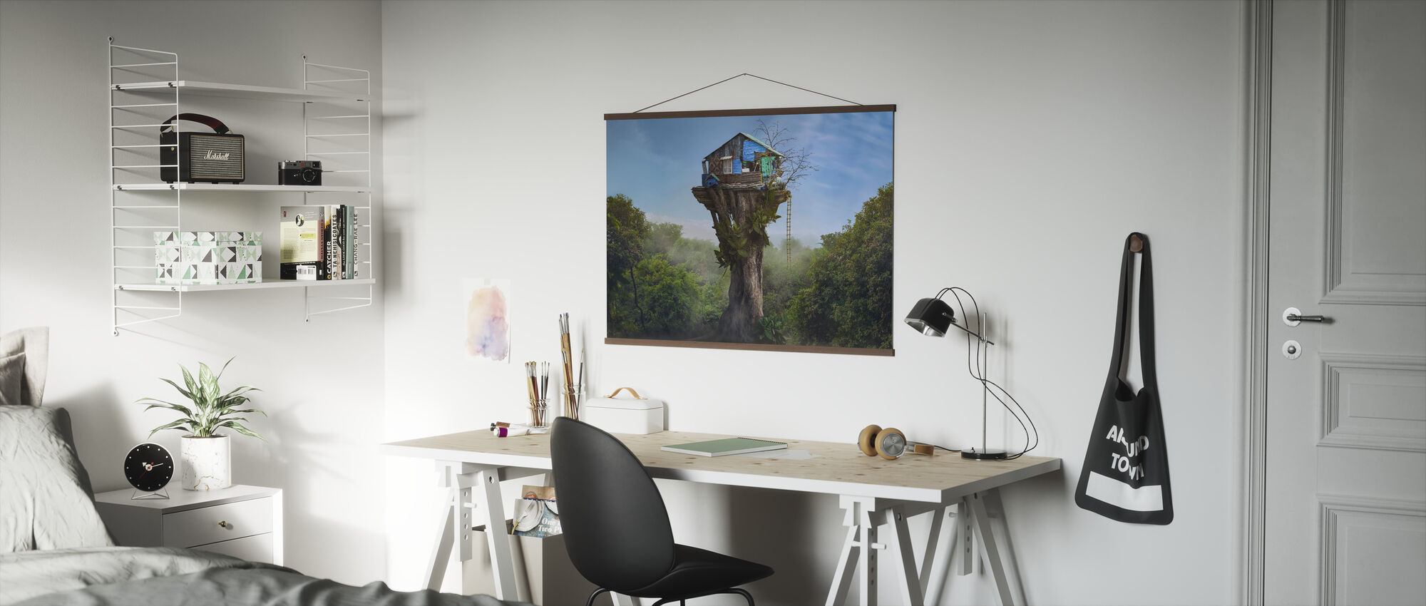 House in the Sky - Poster - Office