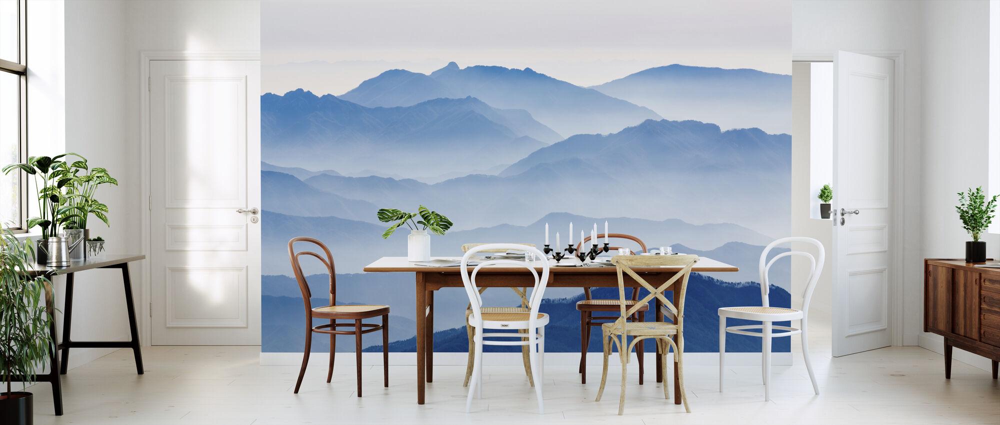 Misty Mountains - Wallpaper - Kitchen