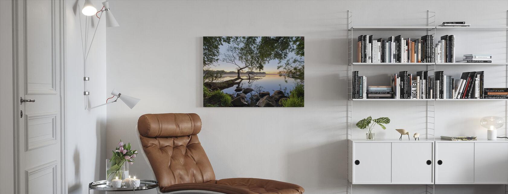 Hauch von Wasser - Leinwandbild - Wohnzimmer