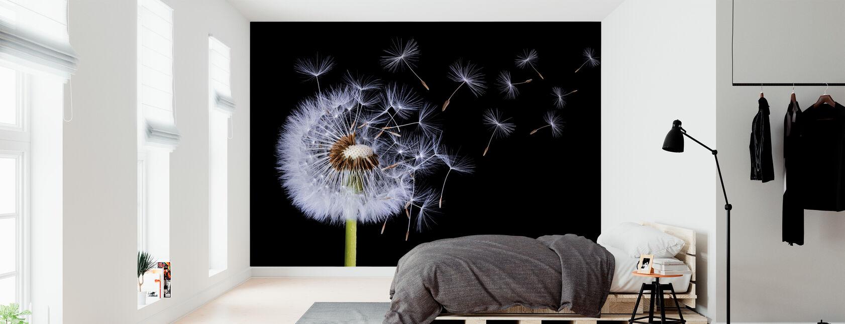 Dandelion Blowing - Wallpaper - Bedroom