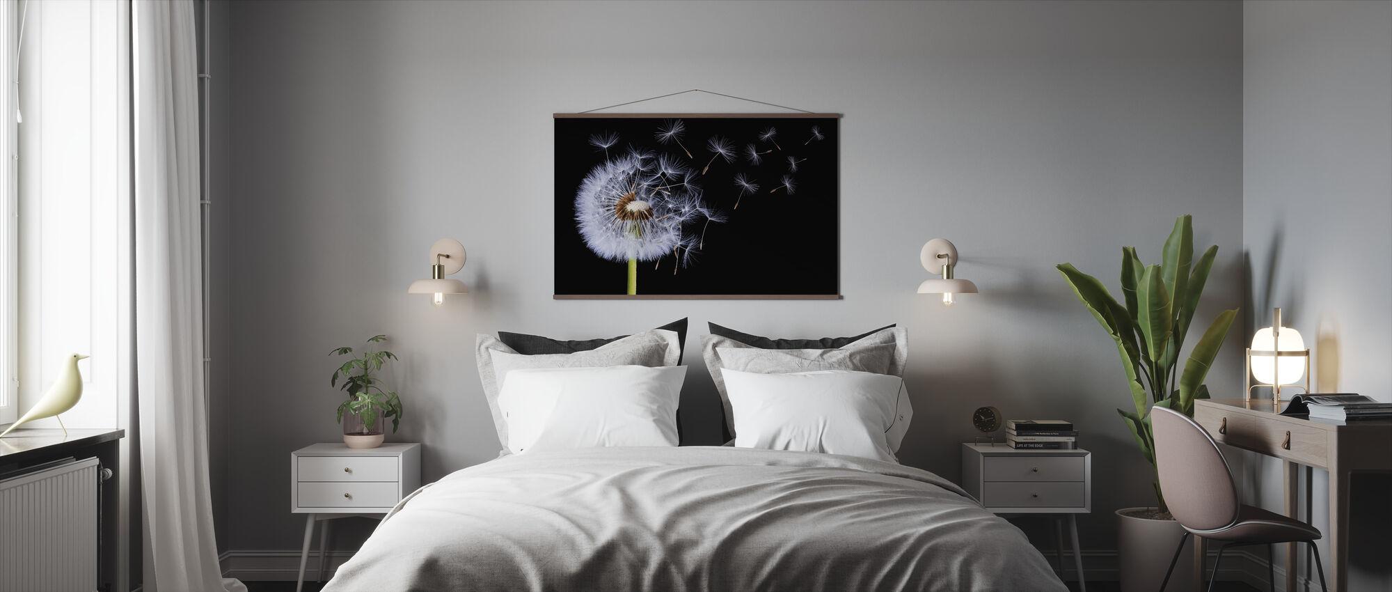 Dandelion Blowing - Poster - Bedroom