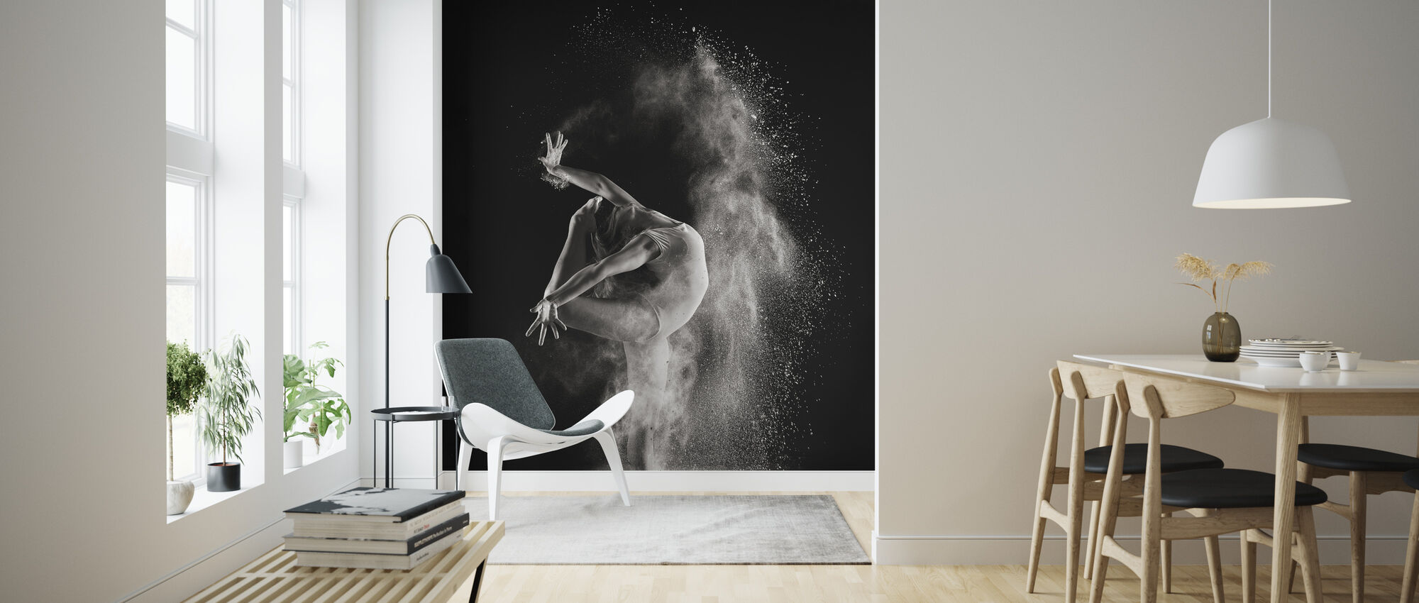 In the light - Wallpaper - Living Room