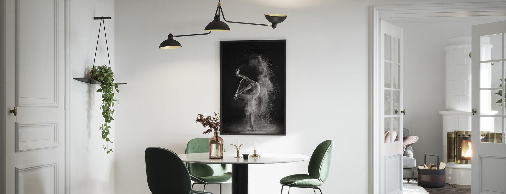 I lyset - Innrammet bilde - Kjøkken