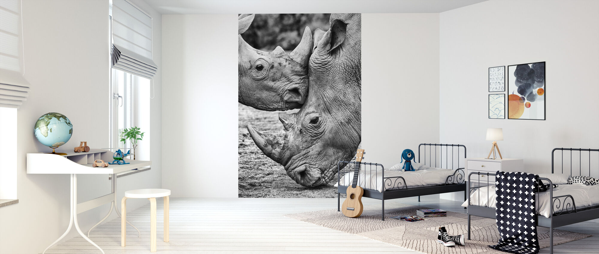 Face to Face - Wallpaper - Kids Room