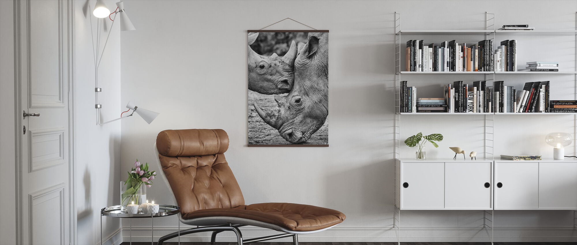 Face to Face - Poster - Living Room