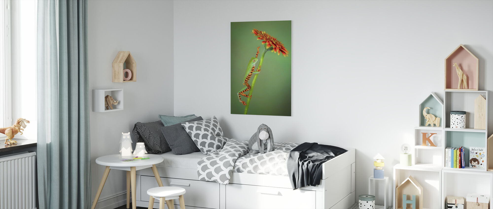 The Climber - Canvas print - Kids Room