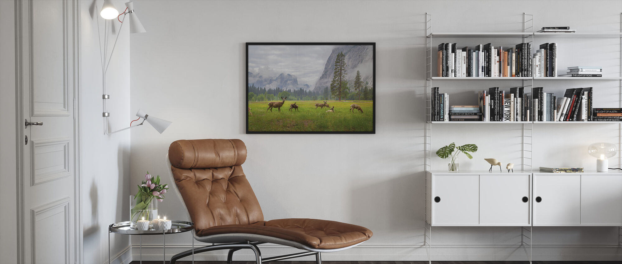 A Feeling of Ancient Time - Framed print - Living Room