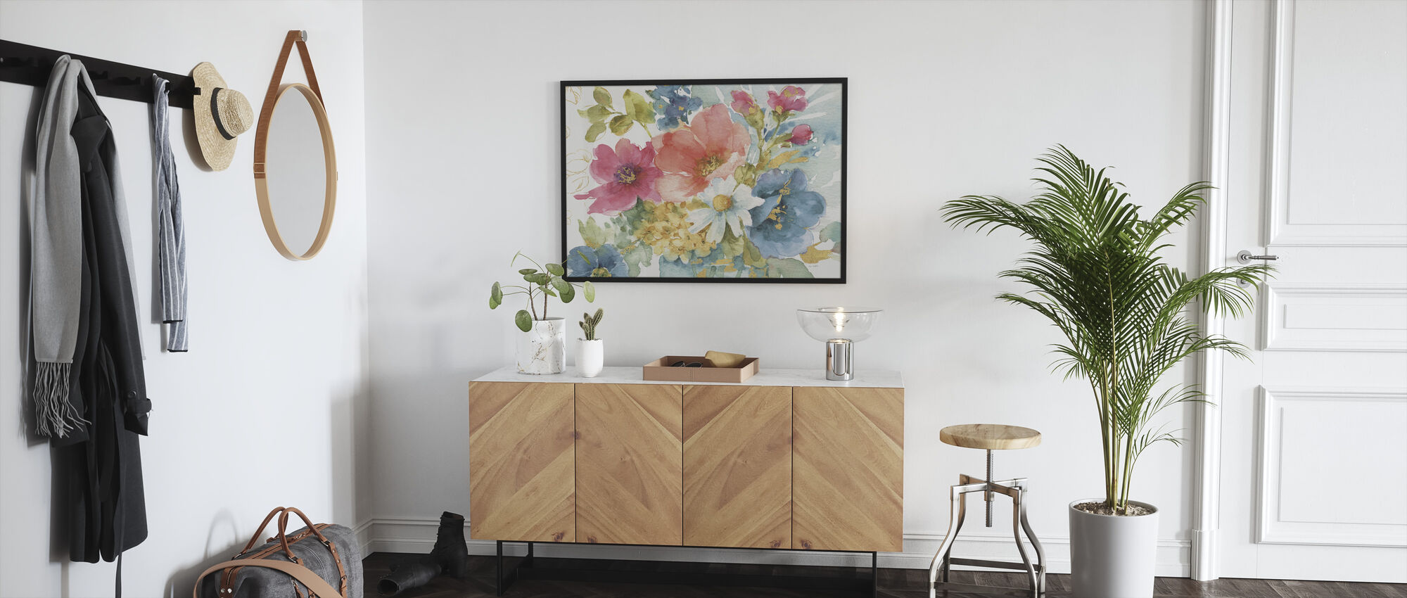 My Garden Bouquet I - Framed print - Hallway