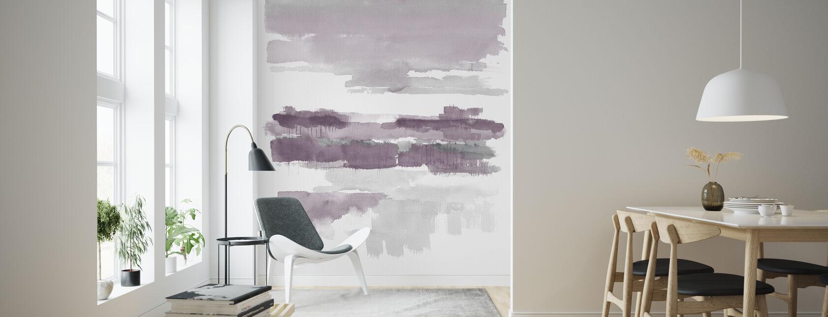 Amethyst Wetlands Crop - Wallpaper - Living Room