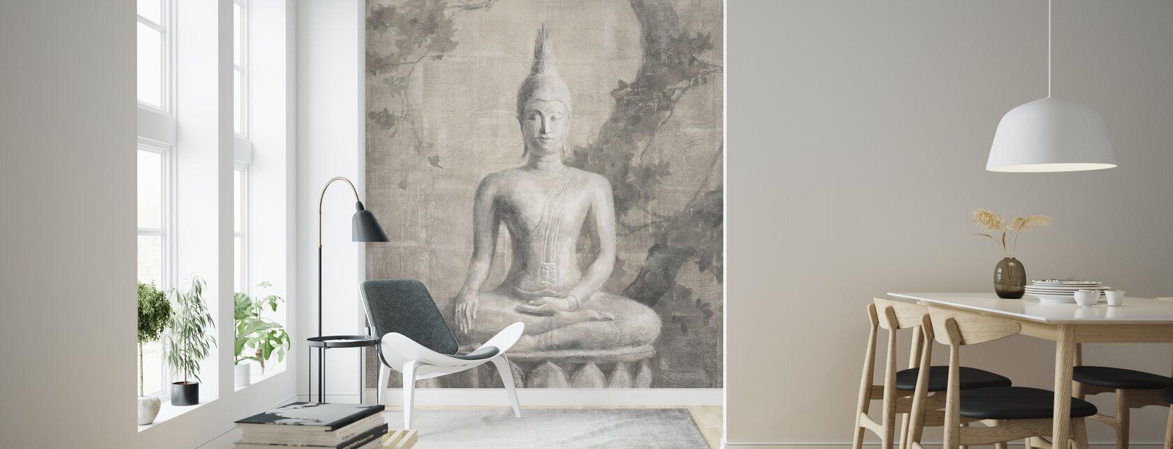 Buddha Neutrale Ernte - Tapete - Wohnzimmer