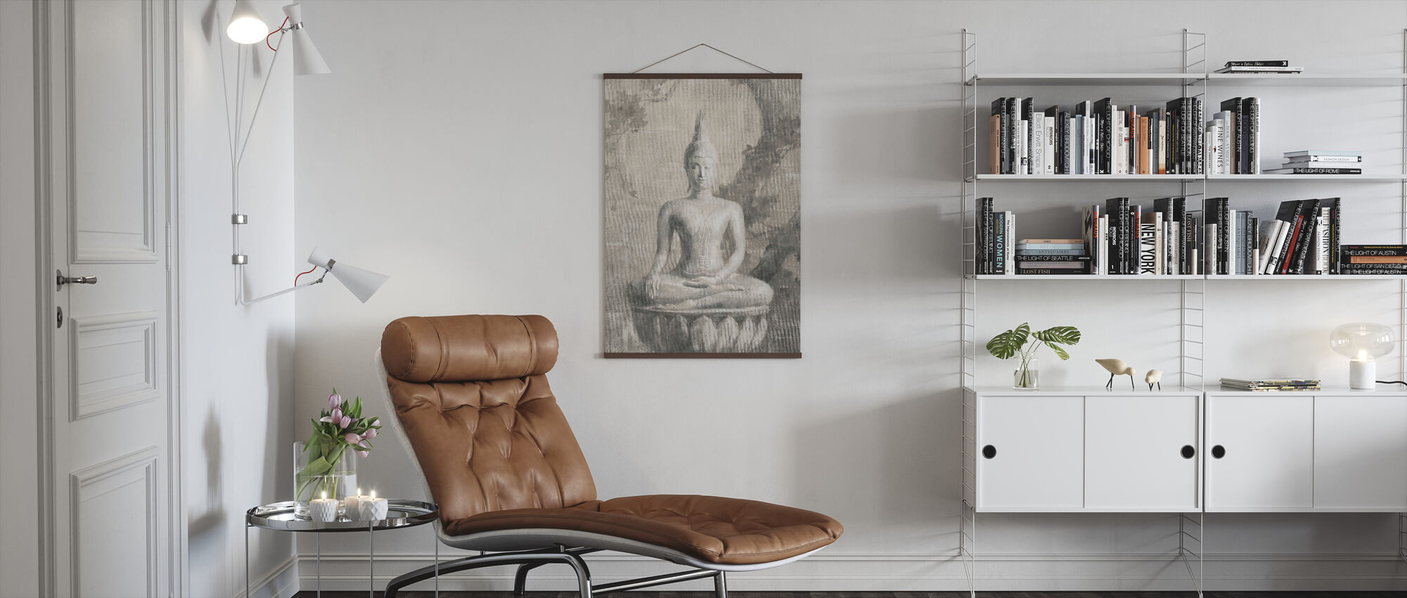 Buddha Neutral Crop - Poster - Living Room