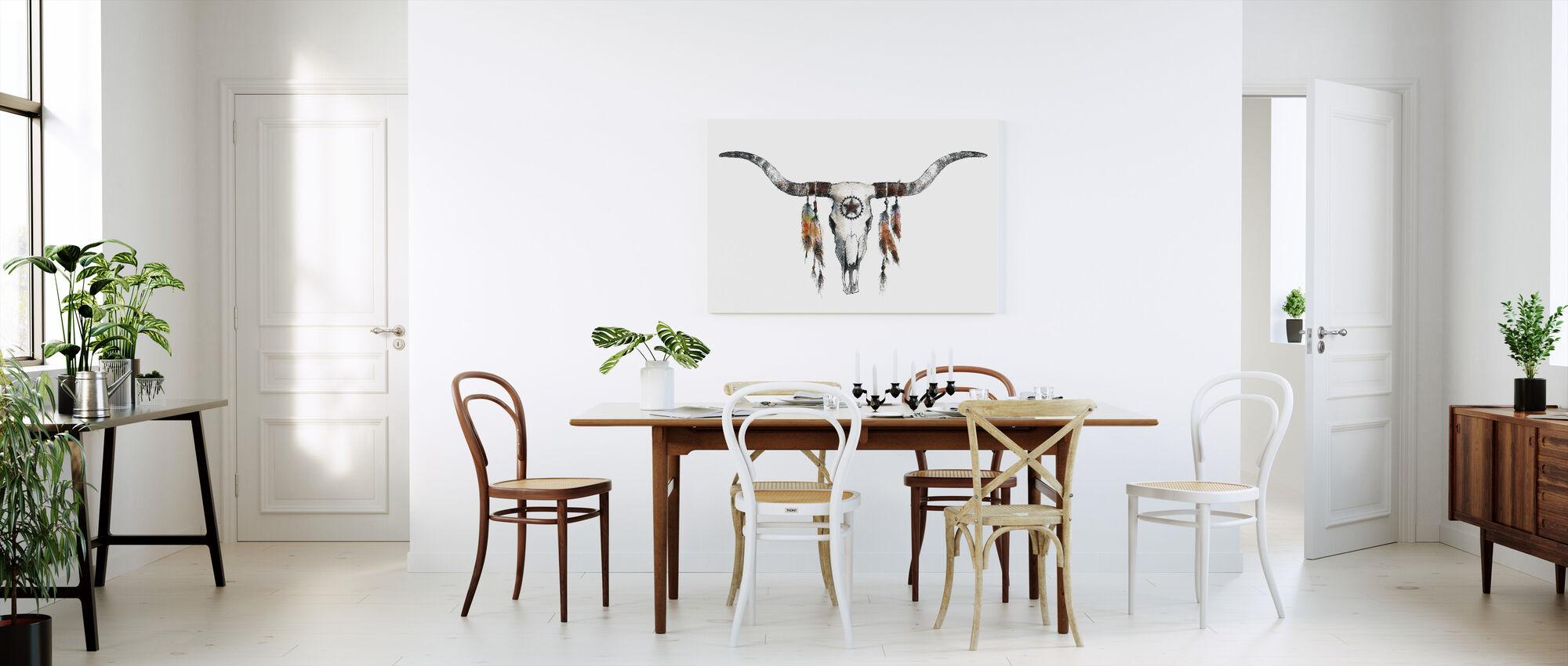 Longhorn - Canvas print - Kitchen