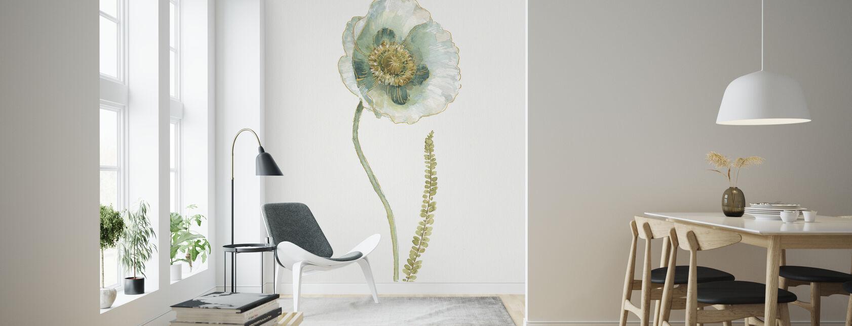 My Greenhouse Single Poppy I - Wallpaper - Living Room