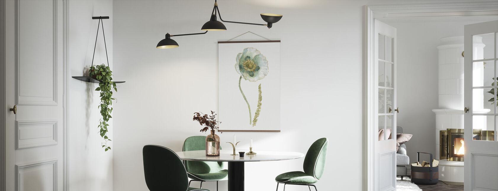 My Greenhouse Single Poppy I - Poster - Kitchen