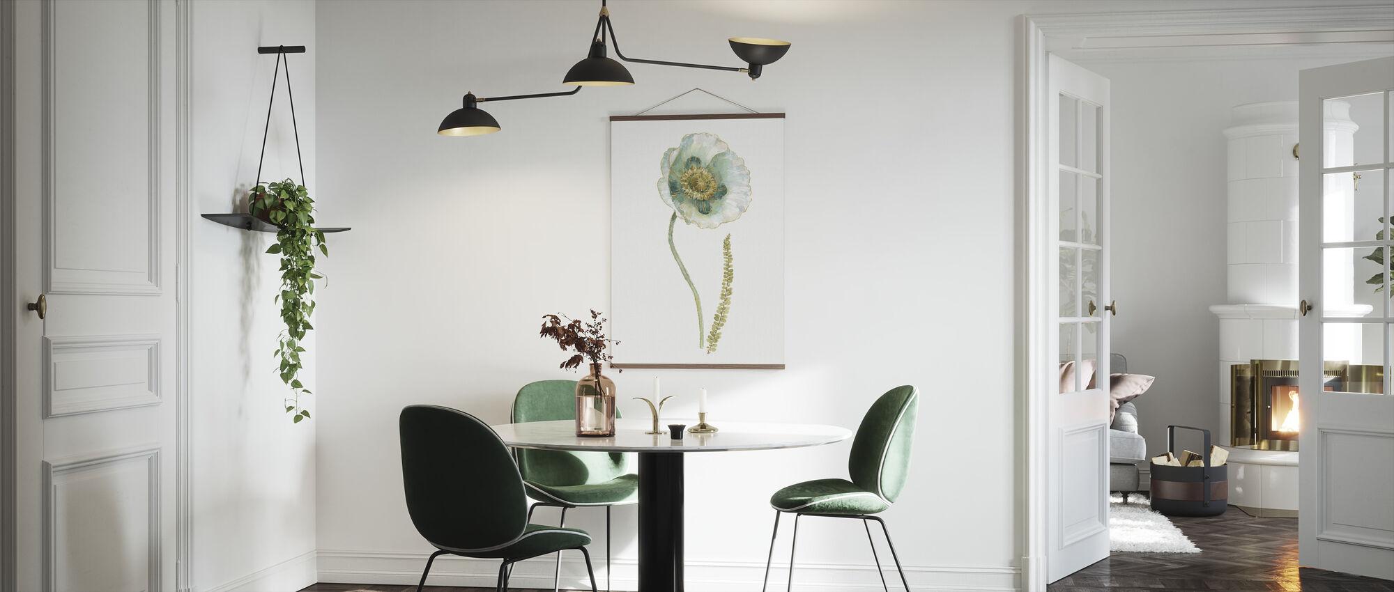 Min drivhus enkelt Valmue I - Plakat - Køkken