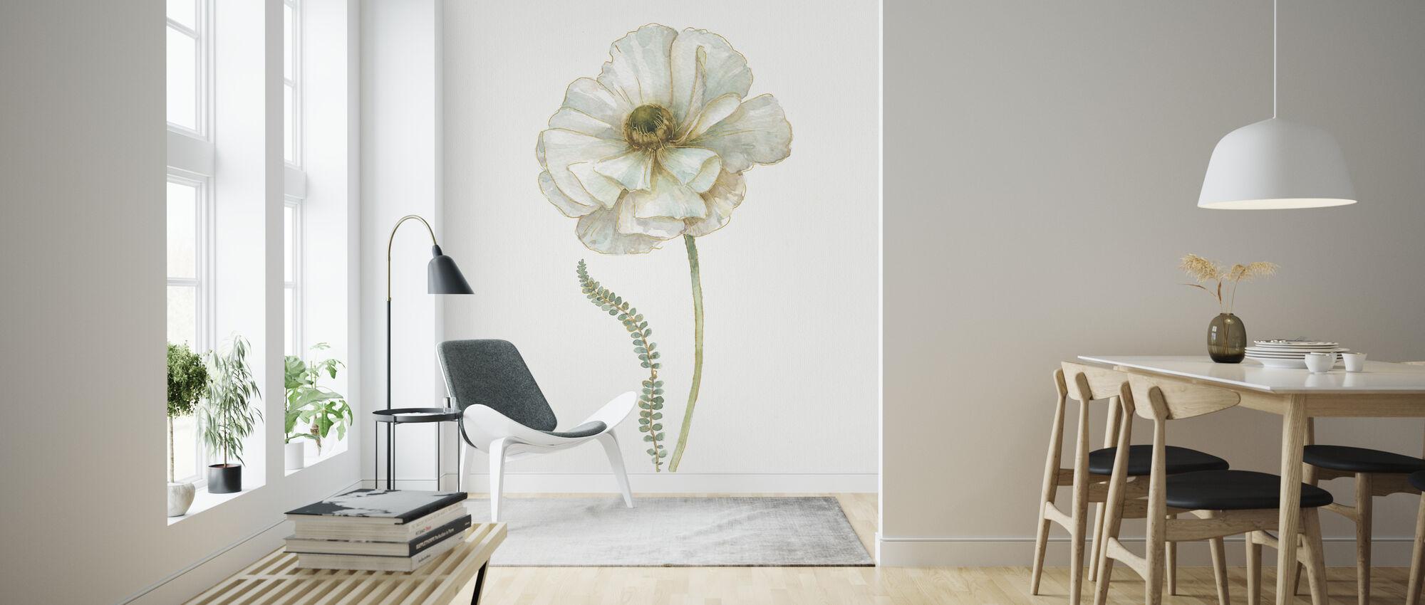 Min drivhus enkelt Poppy II - Tapet - Stue