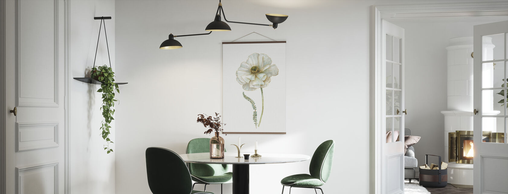 My Greenhouse Single Poppy II - Poster - Kitchen