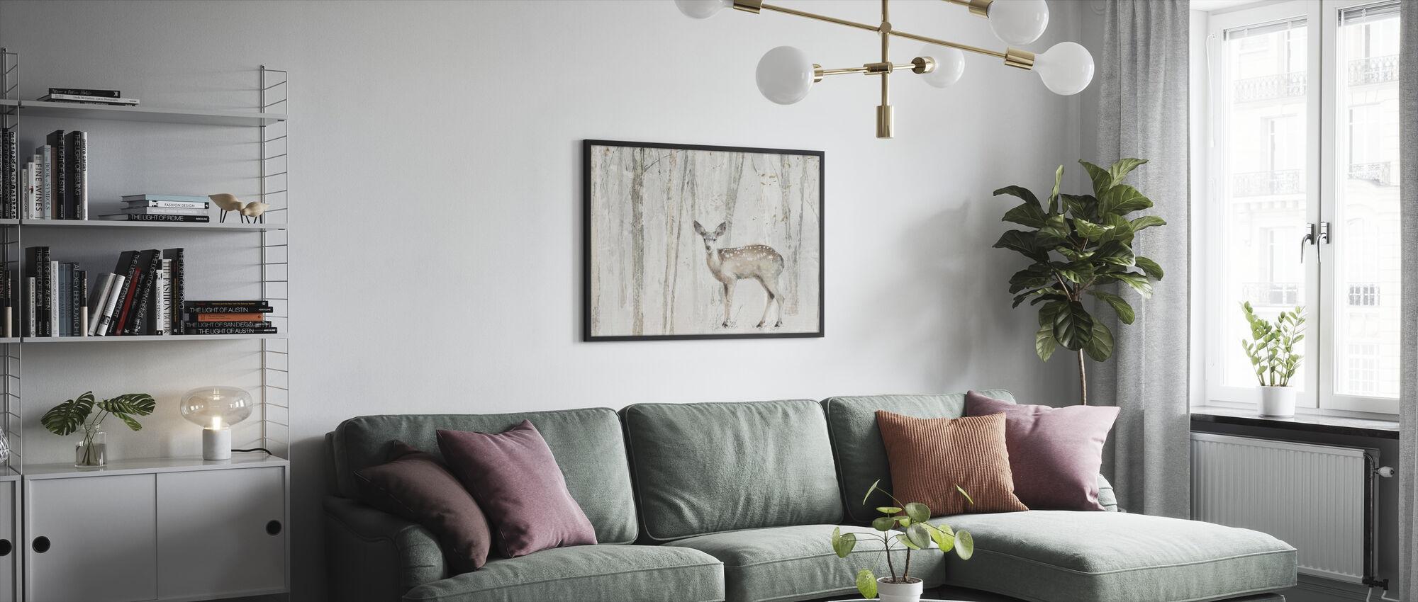 A Woodland Walk VII Crop - Framed print - Living Room