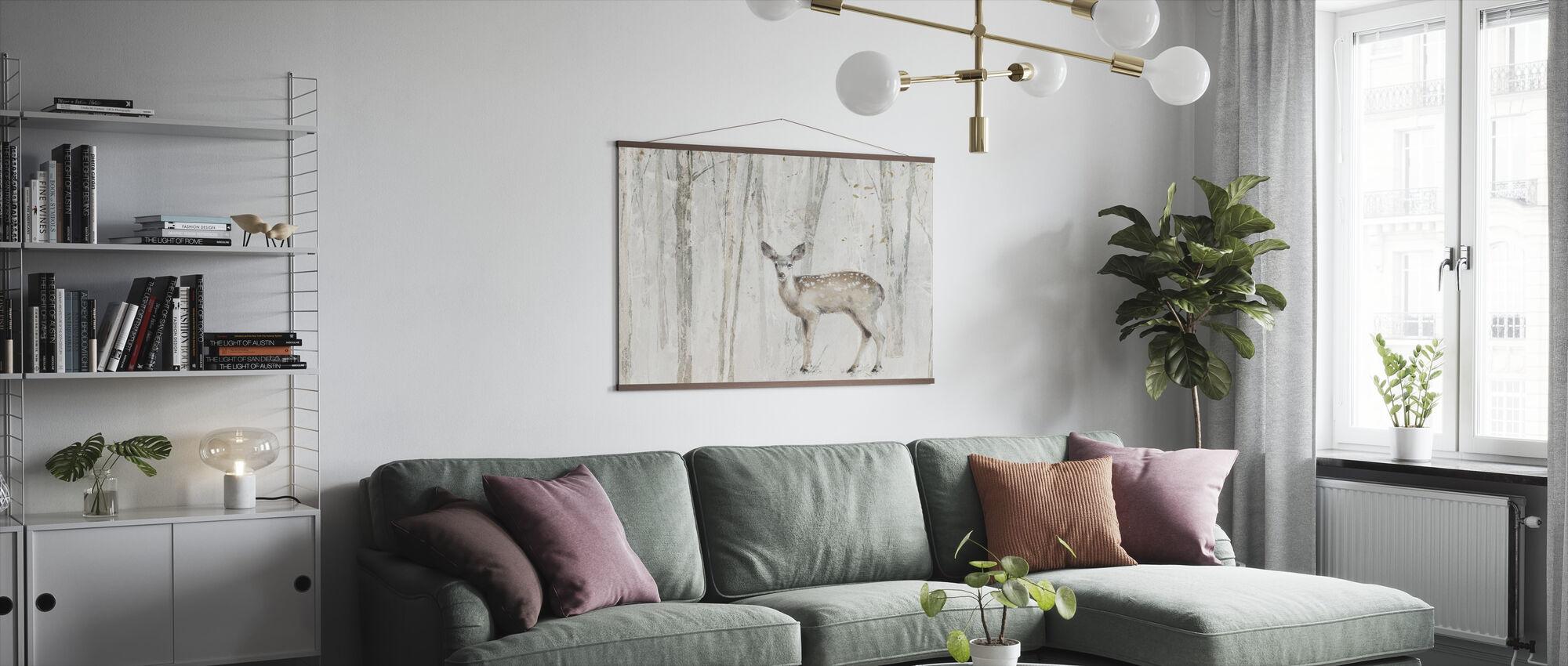A Woodland Walk VII Crop - Poster - Living Room