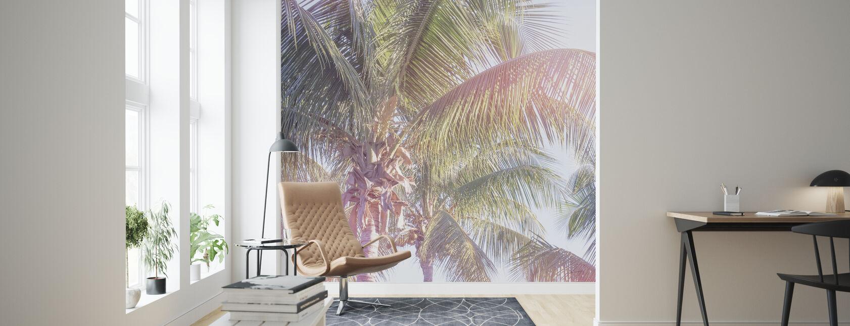 Droom Palm II - Behang - Woonkamer