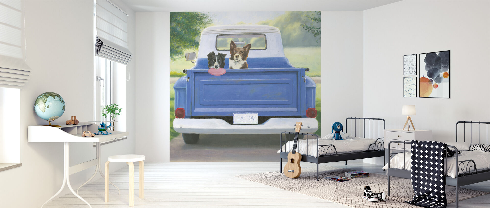 Play Day - Wallpaper - Kids Room