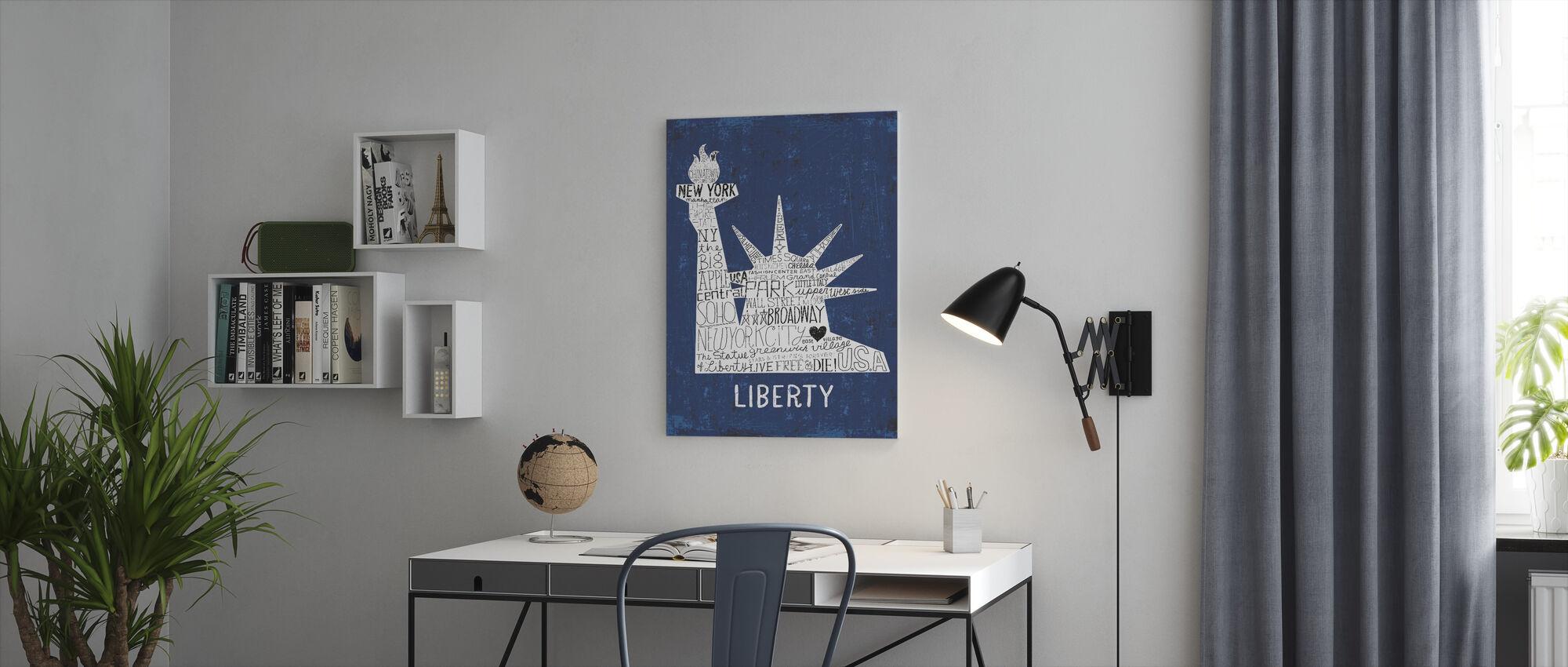 Ikoninen NYC II - Canvastaulu - Toimisto