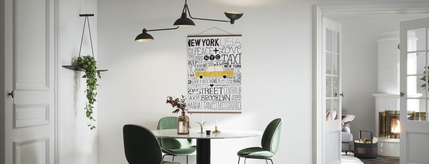 Iconique NYC III - Affiche - Cuisine