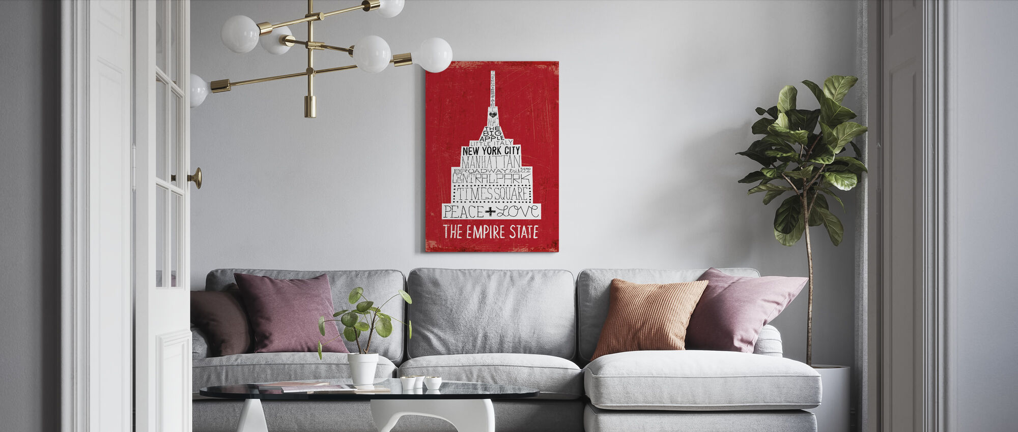 Iconic NYC IV - Canvas print - Living Room