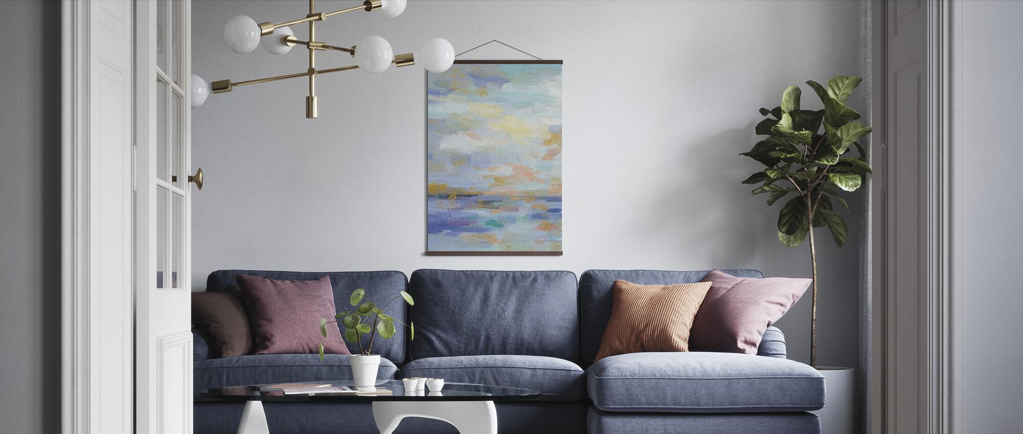 Golden Sunrise II - Poster - Living Room