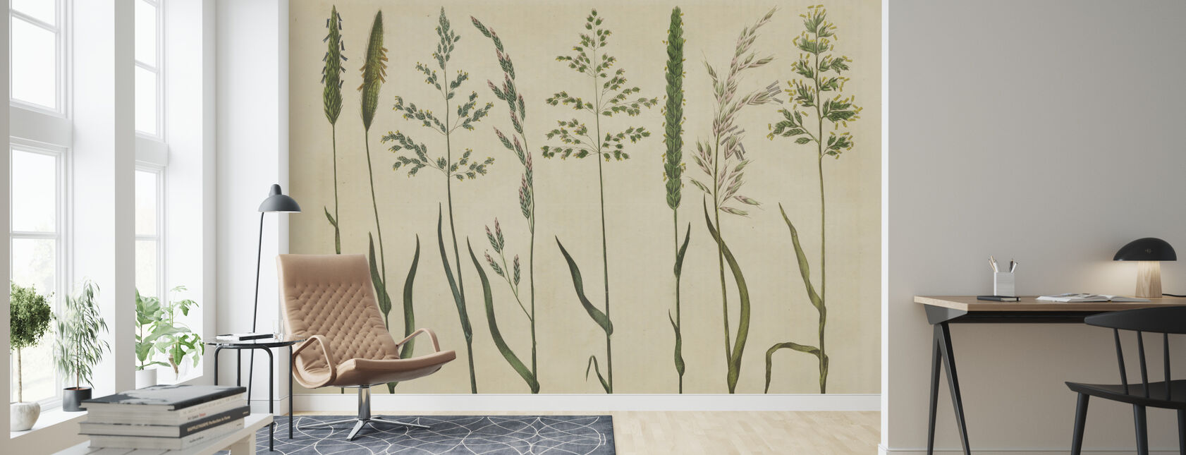 Herbal Botanical VII - Wallpaper - Living Room
