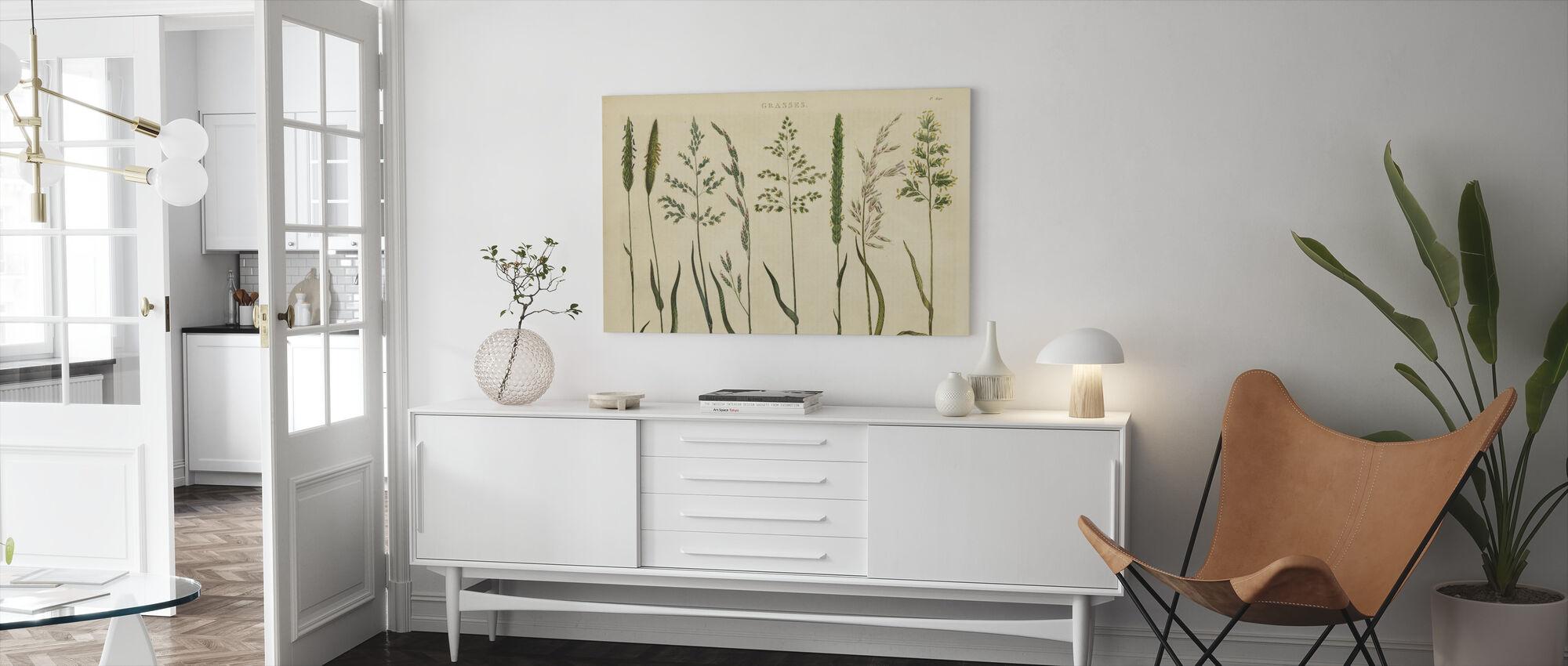 Kruidenbotanische VII - Canvas print - Woonkamer