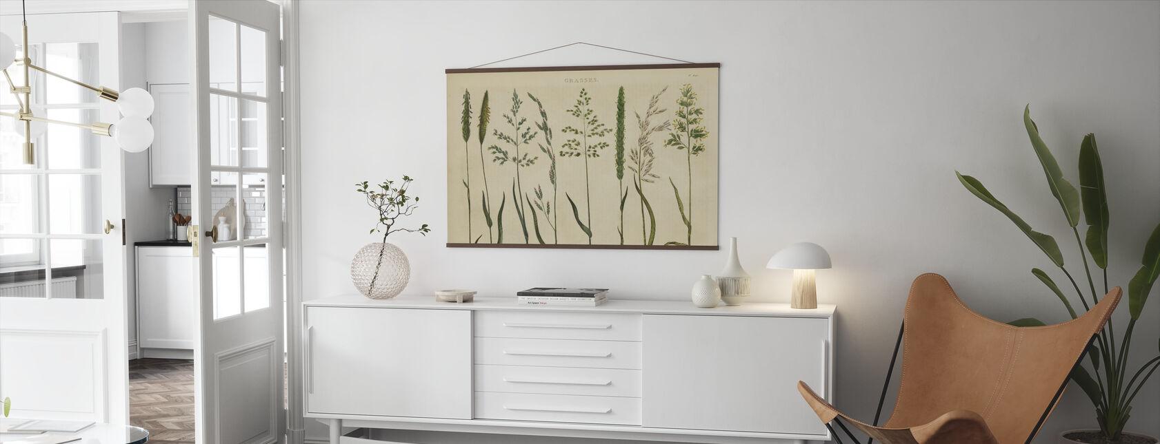Herbal Botanical VII - Poster - Living Room