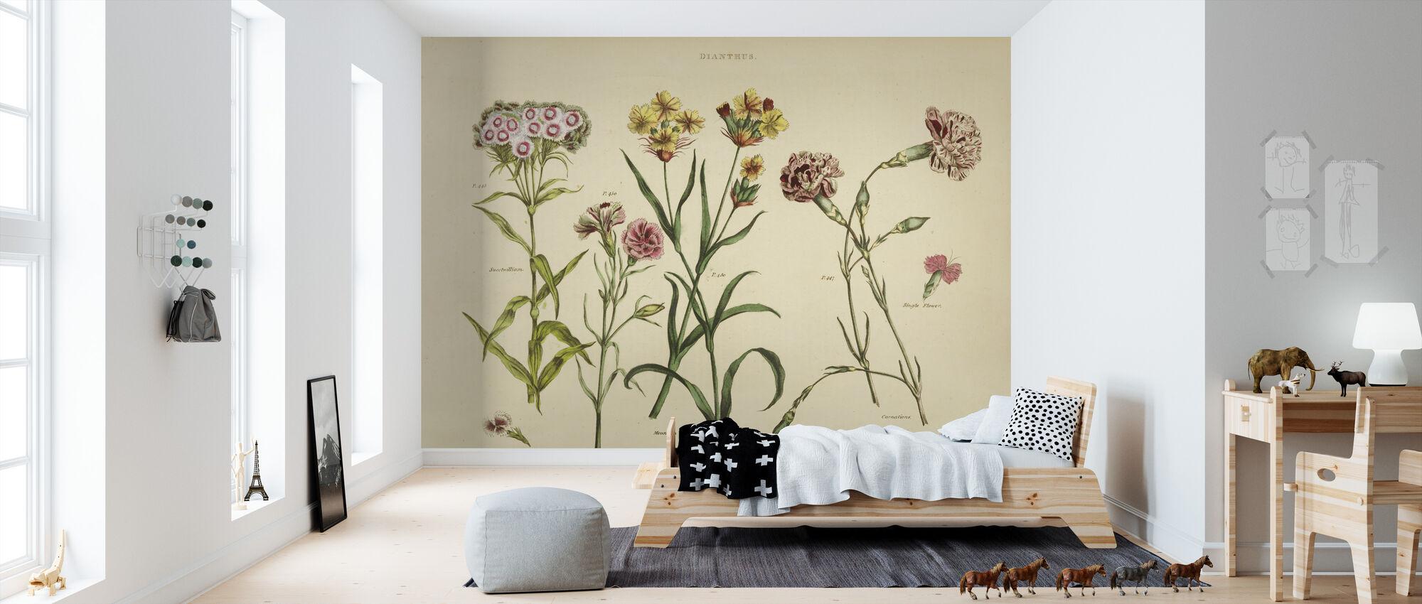 Herbal Botanical VIII - Wallpaper - Kids Room