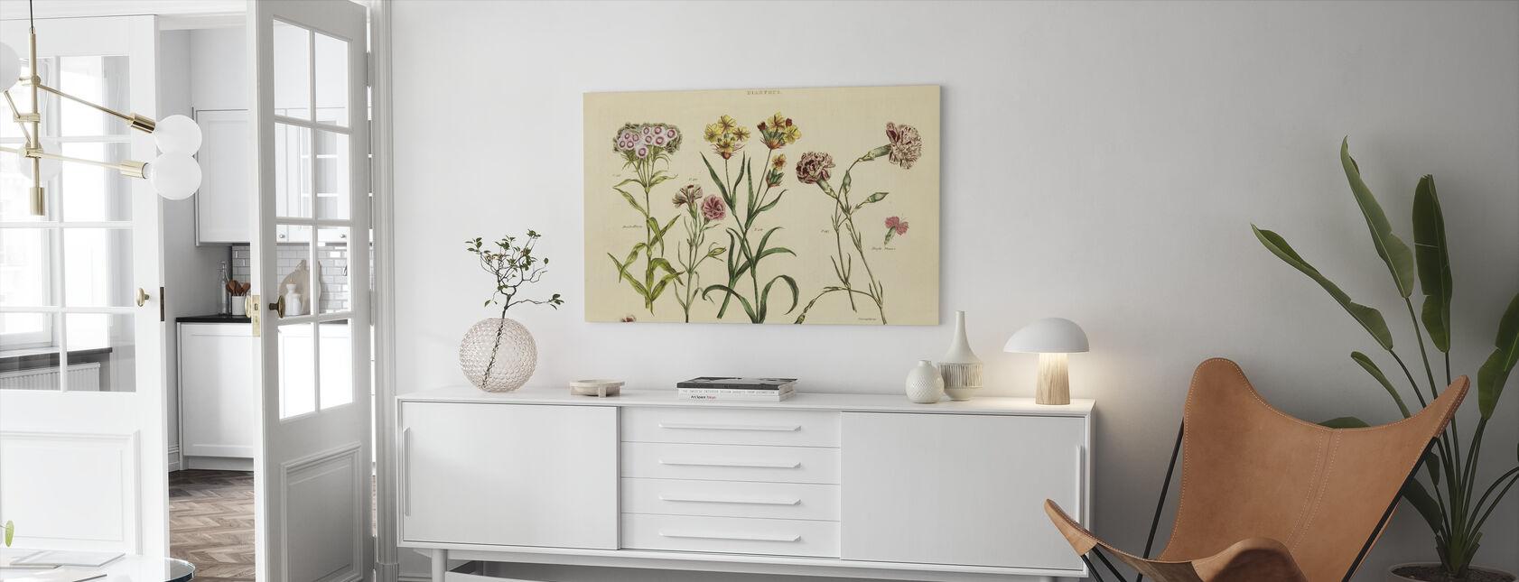 Kruidenbotanische VIII - Canvas print - Woonkamer